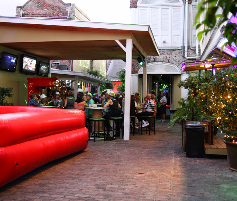 BSBR Events French Quarter Courtyard Parties Image